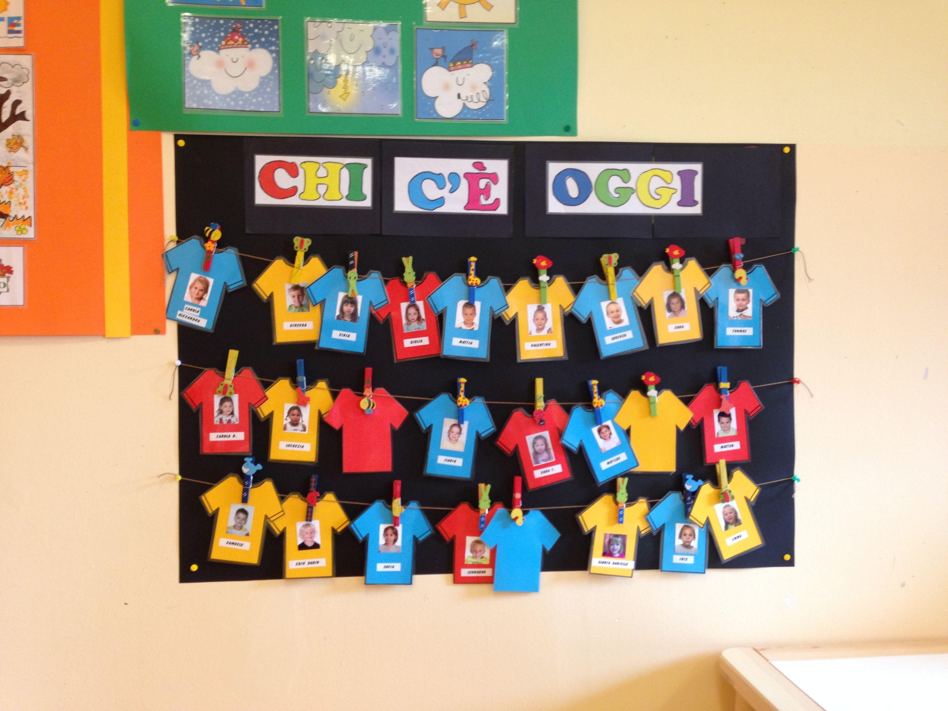 Cartellone presenze assenze lavoretti scuola materna for Idee per cartelloni scuola infanzia