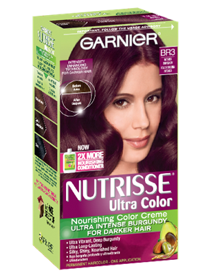 Nutrisse Ultra Color Permanent Hair In Reddish Brown By Garnier Creamy And Conditioning To Lighten Up 3 Levels Without Bleach