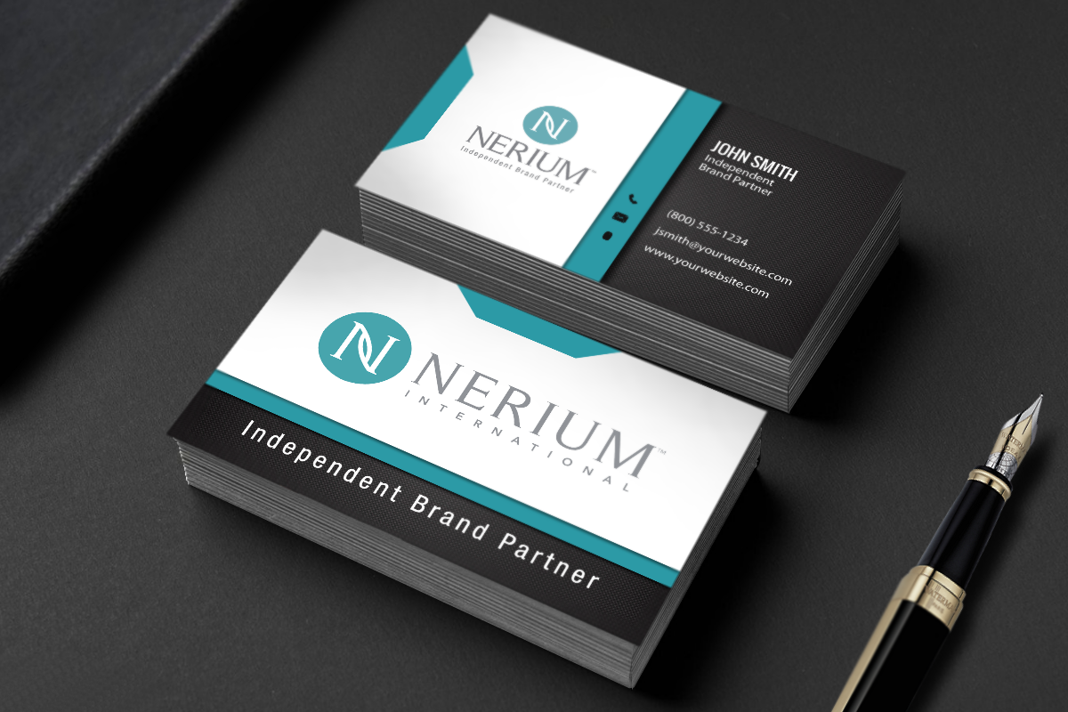 Nerium Business Cards Have Never Looked Better Mlm Nerium Print Paper Graphicdesign Businessca Printing Business Cards Free Business Cards Contact Card