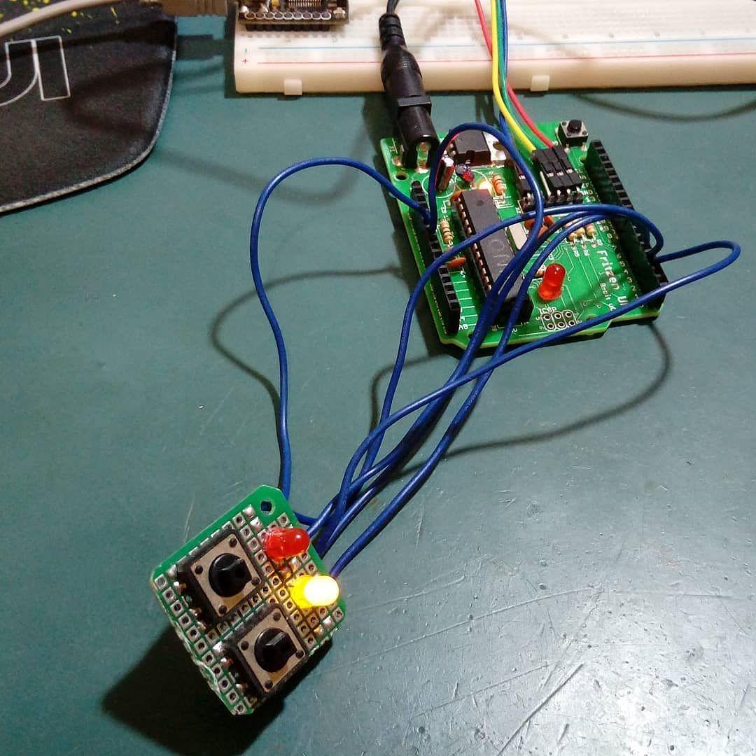 Brincadeira Do Dia Implementando Flip Flops Memrias R S No Circuit Arduino Uno