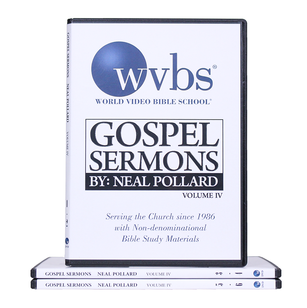 Sermons by Neal Pollard Vol  4 | New Products | Christian