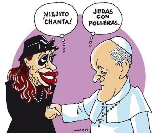 A la presidenta de los 40 millones de argentinos, ..., ver y leer en anibalfuente.blogspot.com.ar