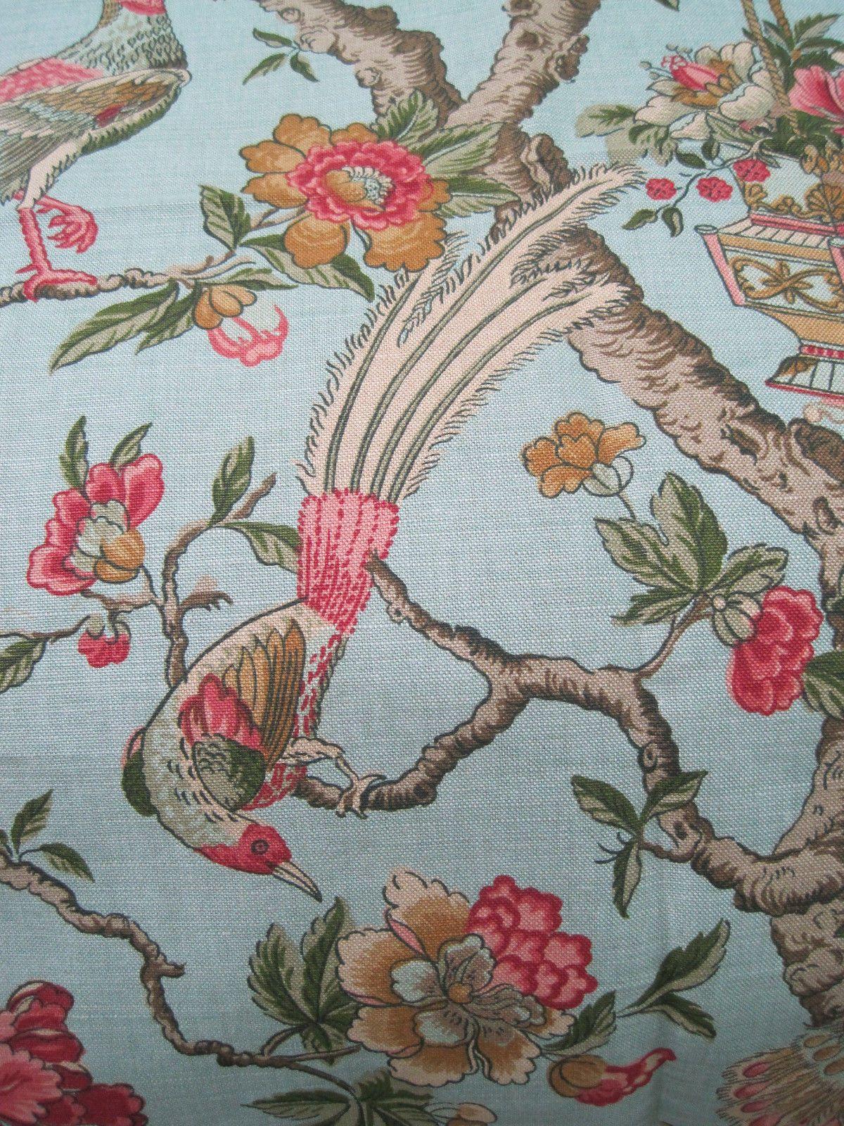Schumacher Linen Fabric