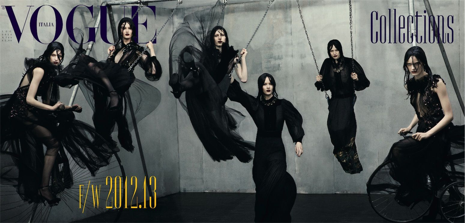 Collections | Steven Meisel #photography | Vogue Italia July 2012