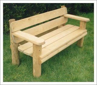 3 SEATER CELTIC RUSTIC GARDEN BENCH | Toilet paper | Garden bench ...