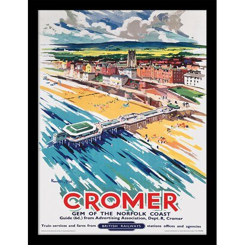 Cromer Old Travel Poster reproduction