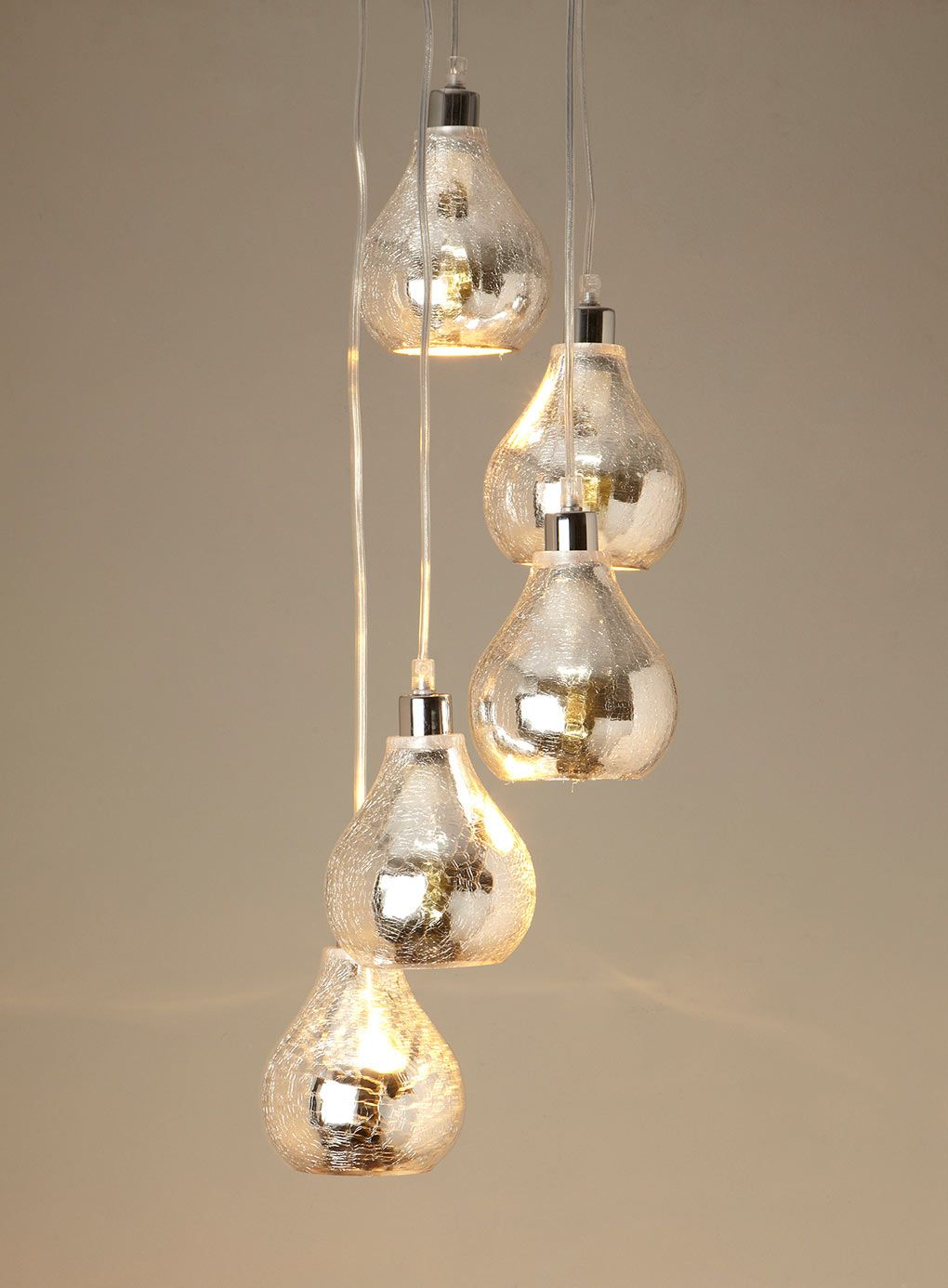Sabrina Mirrored Cluster Pendant  ceiling lights  Home