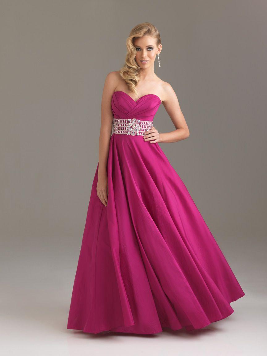 Rose A Line Sweetheart Floor Length Zipper Prom Dresses With Belt