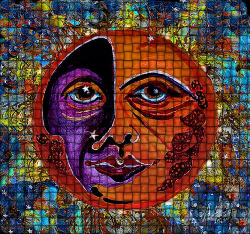 "CBS Sunday Morning Sun Art"" By Mary-Sonya Conti"