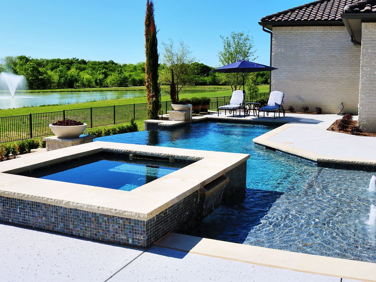 dallas formal pools  rockwall custom pool