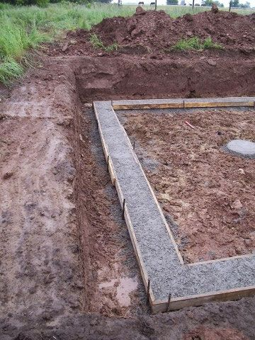 Concrete Footings For Basement Walls Build A Small House