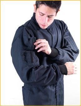 0d301e8d4fb5 ARCBAN® Mandarin Collar Coverall made from Nomex® - JK Ross Arc Flash  Protection  arcflash  ppe  ppetalk  ad  arcban  jkross