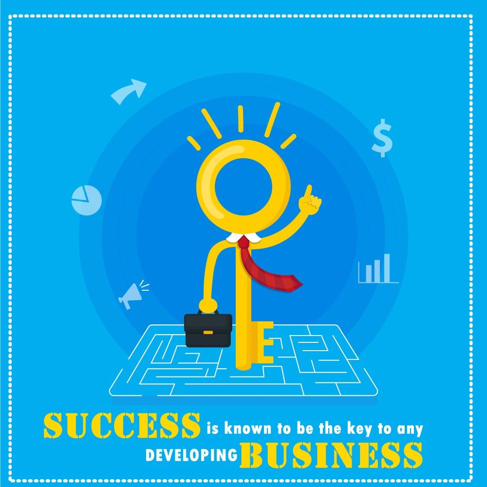 A fact that to succeed in business today you need to be