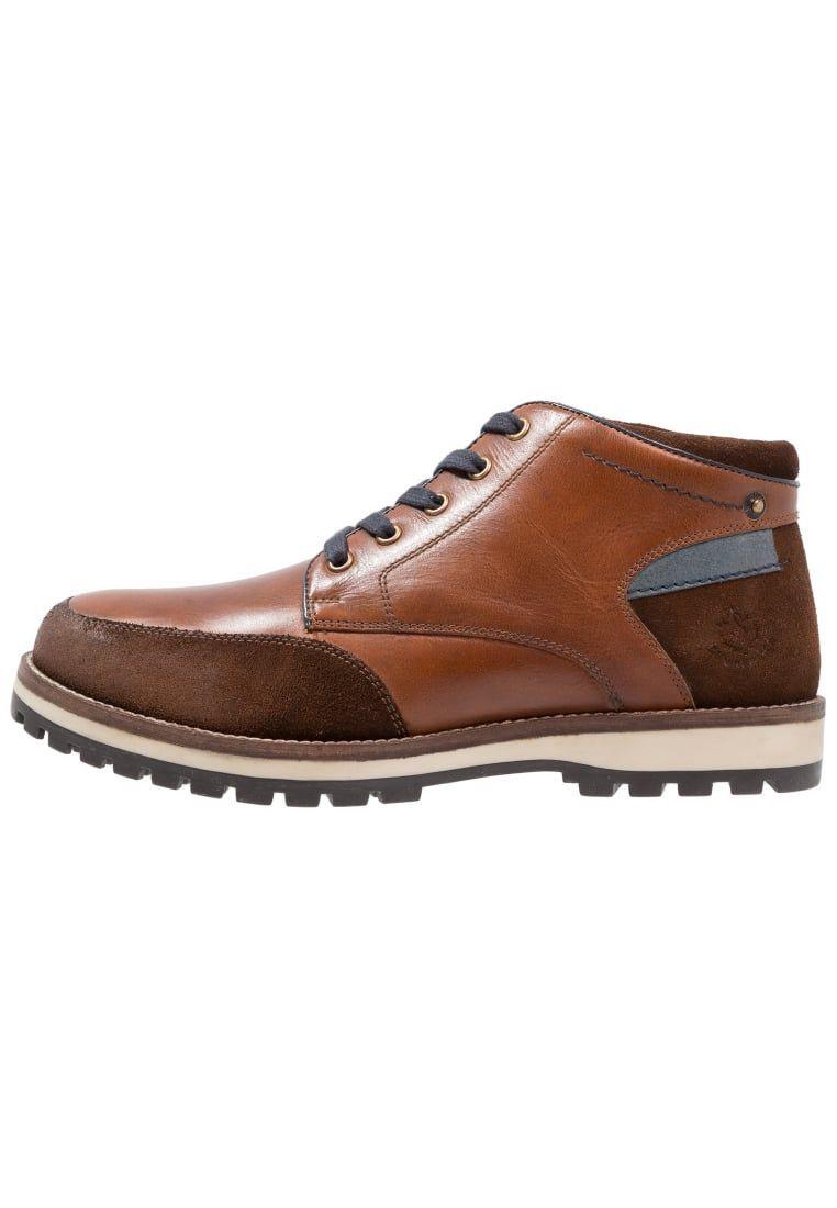 Shoes Click - Zapatos de cordones de Material Sintético para hombre Marrón marrón kdsBK