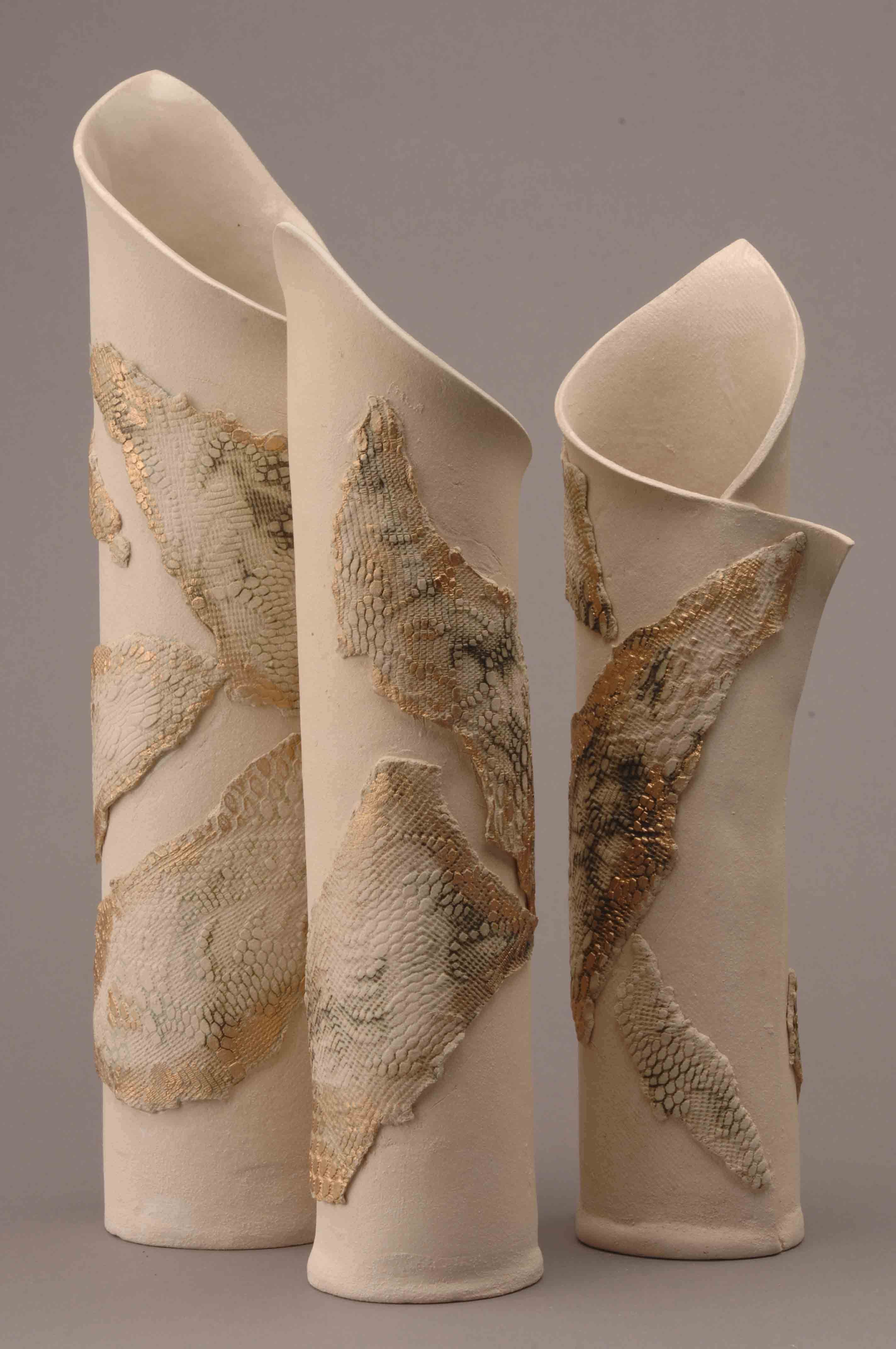 Wrapped Forms Ceramics Art And Pottery Slab Pottery Pottery Beginner Pottery