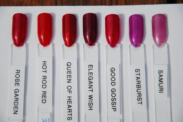 Gelish Swatches Only Nails Swatch Nail Polish Colors