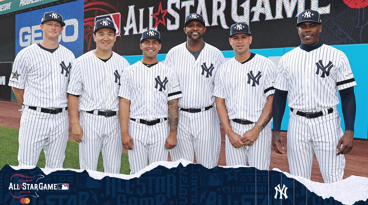 Yankee All Stars 2019 Yankees New York Yankees Ny Yankees