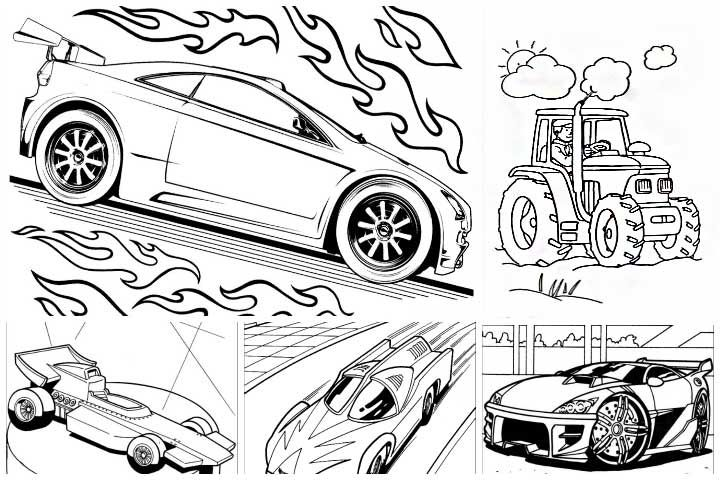 Top 25 Free Printable Hot Wheels Coloring Pages Online Cars
