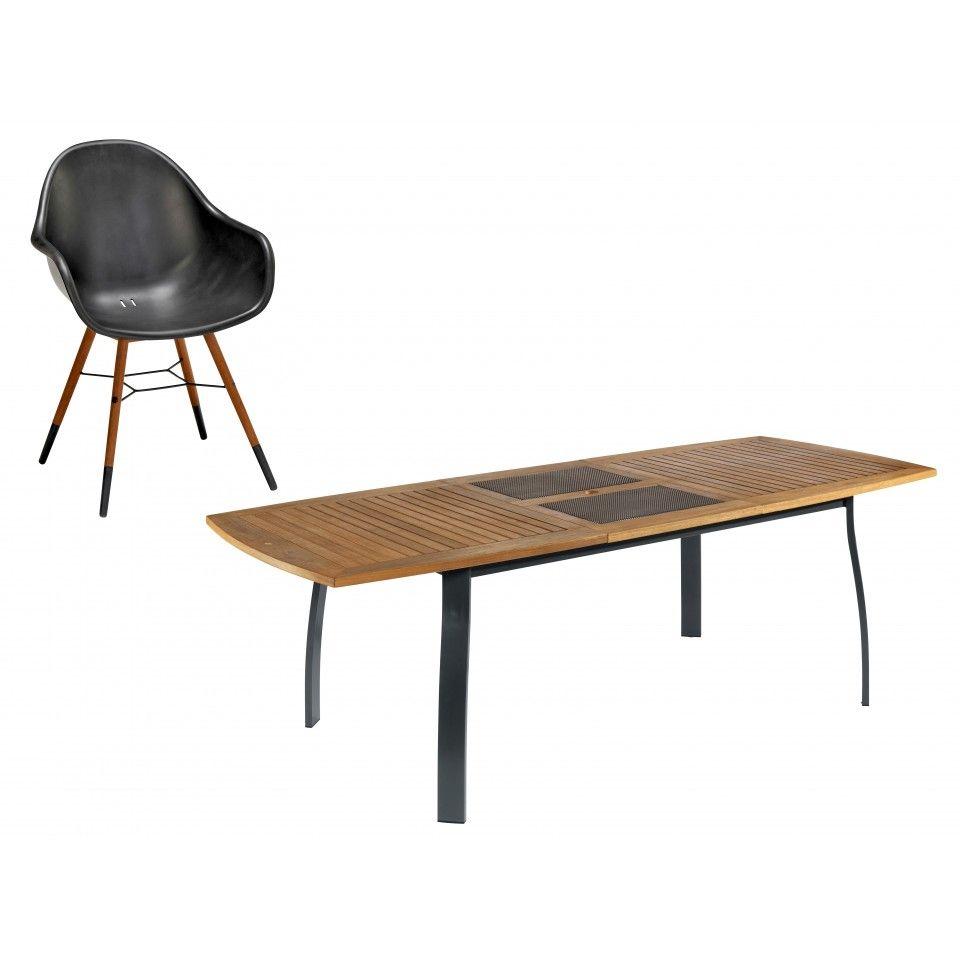 Gartenmobelset Kingston St Tropez Tisch 6 Stuhle