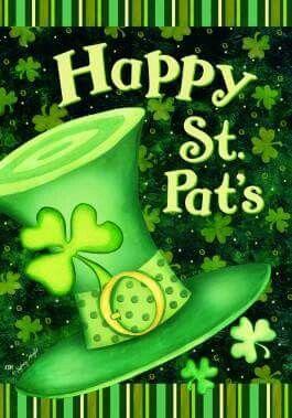 "St Patrick/'s Luck Garden Flag Rainbow Shamrocks 12.5/"" x 18/"" Briarwood Lane"