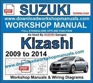 Suzuki Kizashi 2009 To 2014 Workshop Manual