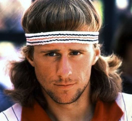 Fila Vintage Headband Worn BY Bjorn Borg AND Richie Tenenbaum BNWT ... 10008ff4c80