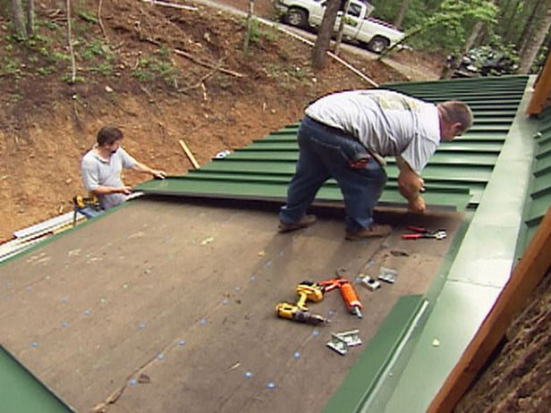 How To Install A Tin Roof Metal Roof Installation Diy Roofing Roofing Diy