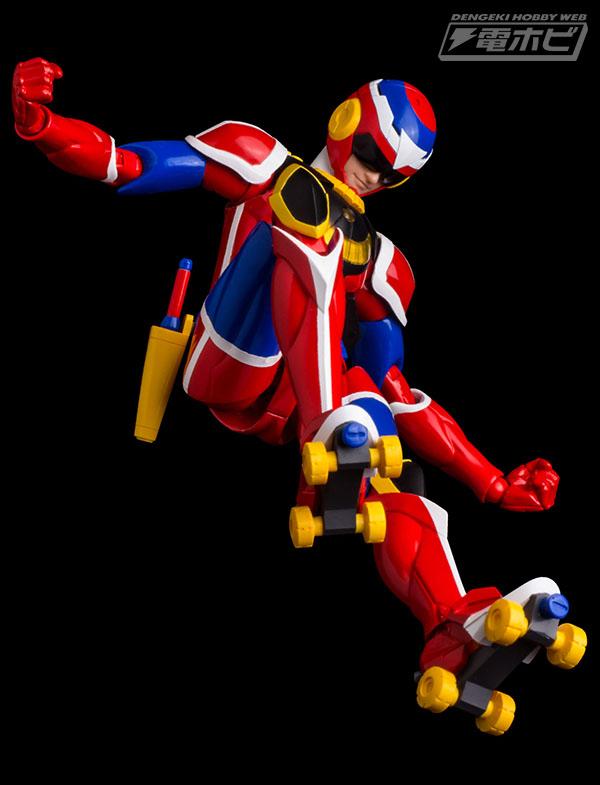 Sentinel Tatsunoko Heroes Fighting gear Muteking Painted Action Figure