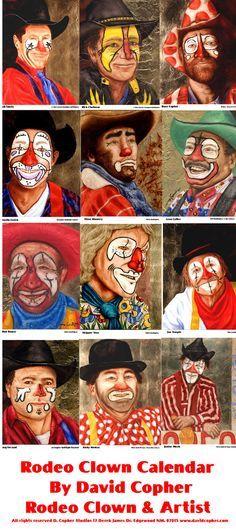 Rodeo Clown Calendar Halloween Halloween Costumes For