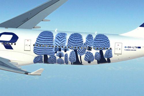 Metsänväki # marimekko × Finnair