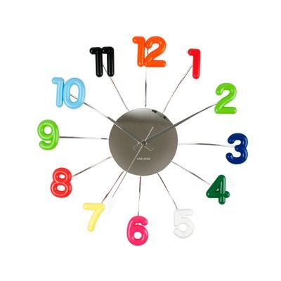 Attractive Karlsson Spider Wall Clock Pictures