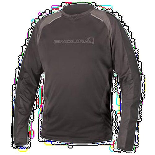 Endura 2015 Mens MT500 Burner II Long Sleeve Cycling Jersey  E3082 Black  XL >>> Click image to review more details. (Note:Amazon affiliate link)