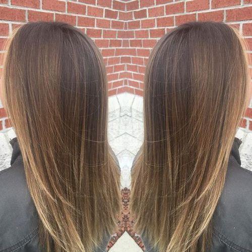 33 Best Balayage Frisuren Fur Glattes Haar Fur 2018 Balayage Best Frisur Check More At Balayage Straight Hair Straight Hairstyles Balayage Straight