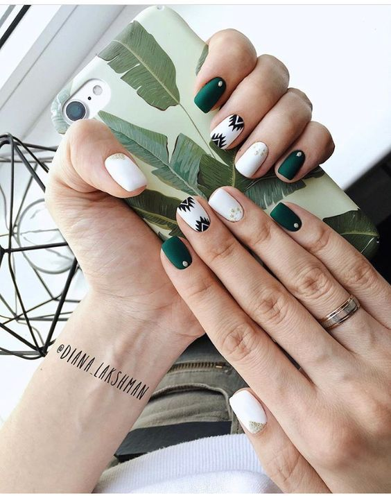 60 Must Try Nail Designs For Short Nails 2019 Short Acrylic Nails Trendy Nails Manicure