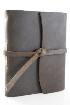 Genuine Leather Legends Journal - Hand made in the USA