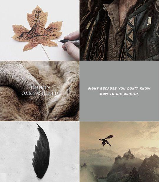 """Tolkien Edits: """"→ Thorin Oakenshield Aesthetics """" 1/2"""