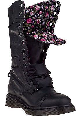32525118efaef Dr. Martens Women`s shoes Triumph 1914 W Boot Black floral US 7 EU ...