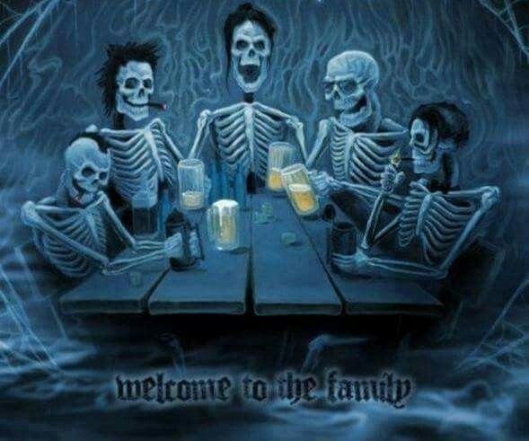 Skeleton Family Avenged Sevenfold Welcome To The Family