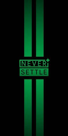NEVER SETTLE WP 5 wallpaper by AllianceProjects - 64cf - Free on ZEDGE™