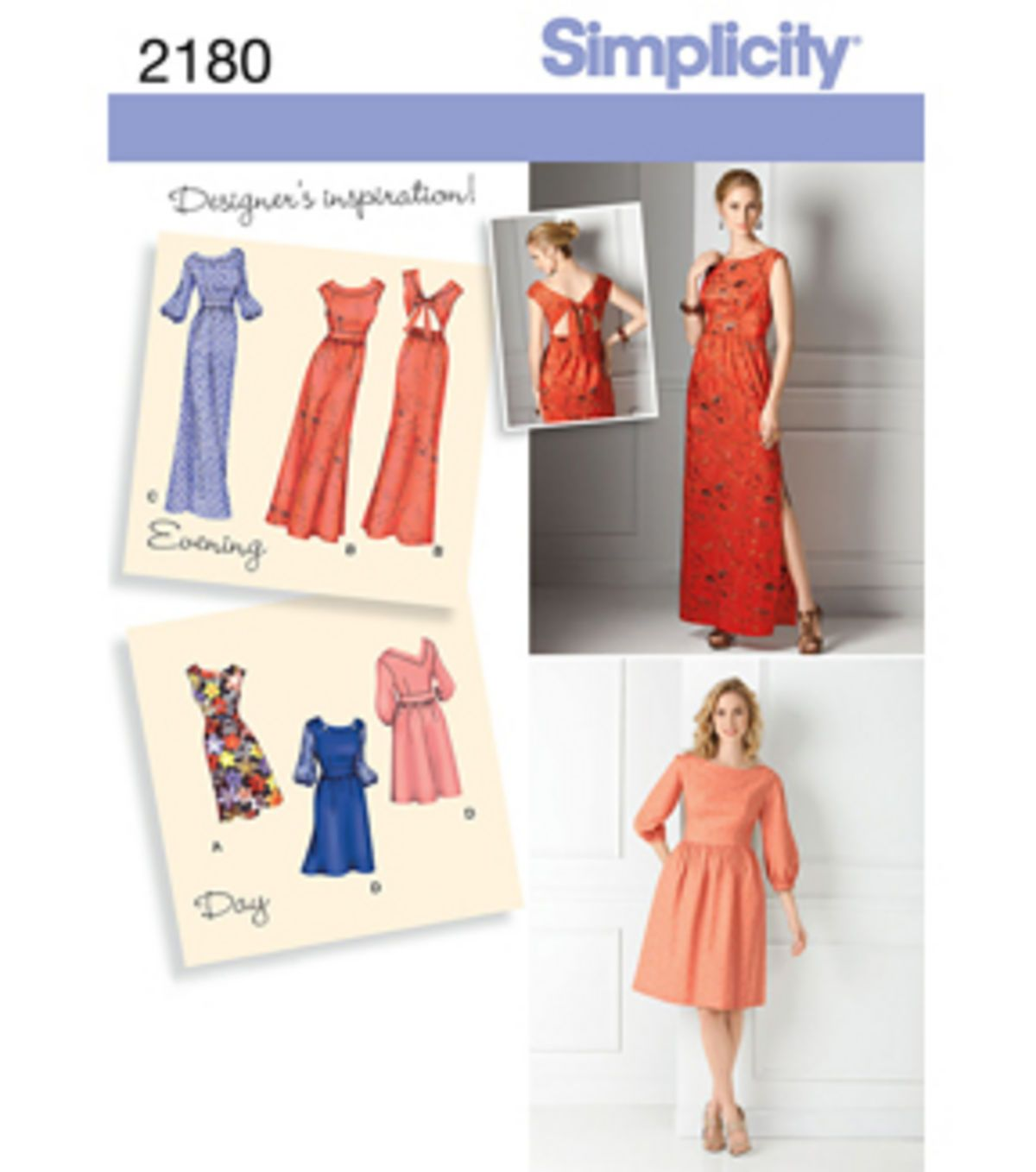 Simplicity Pattern 2180H5 6-8-10-12--Simplicity Misses