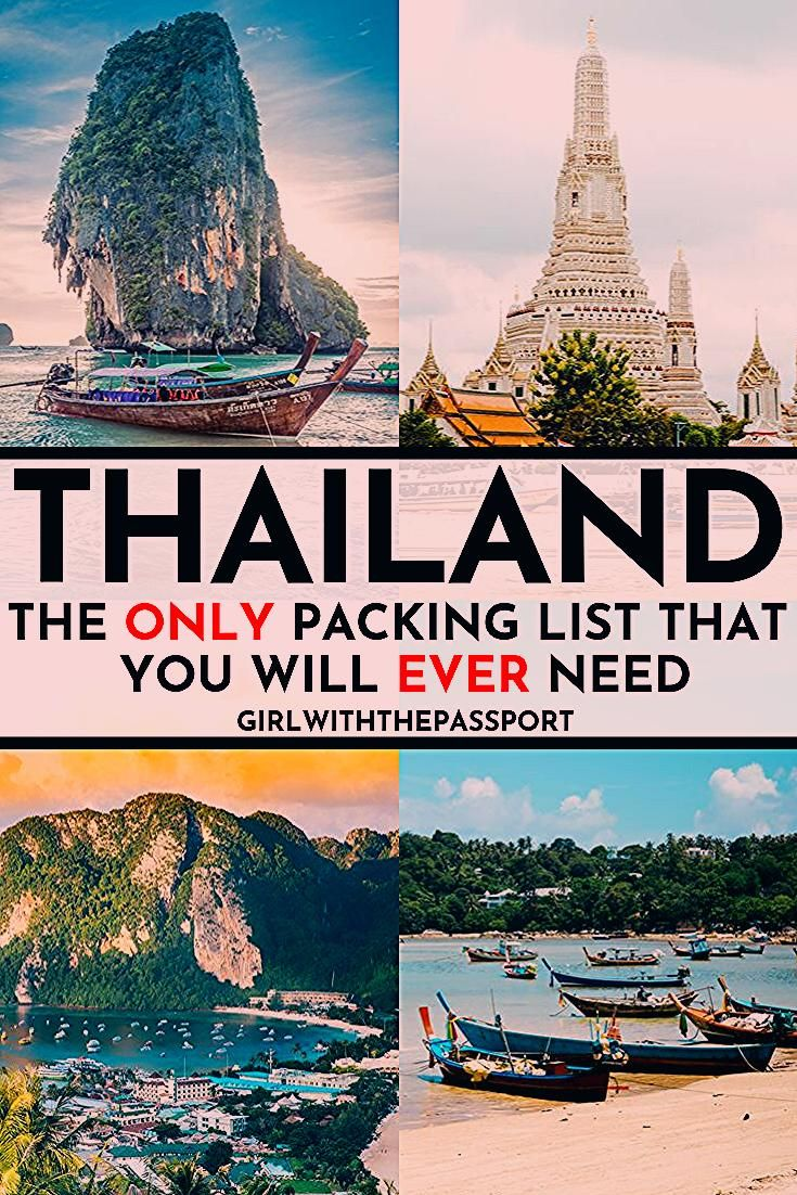 Photo of 20 Things you MUST pack for your next trip to Thailand