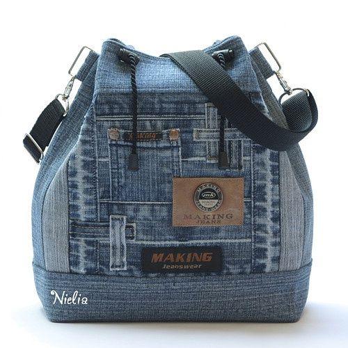 5d20f3c1b955 Nielia - сумки из джинсов (часть2) / Сумки, клатчи, чемоданы / ВТОРАЯ УЛИЦА