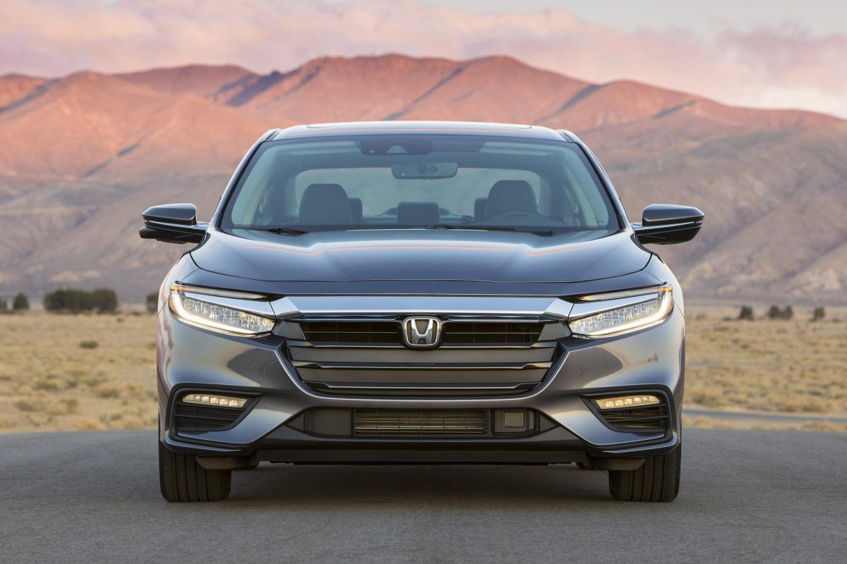 2019 Honda Insight at the 2018 New York International Auto