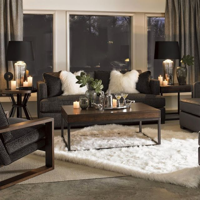 South shore decorating blog trend spotting mongolian fur for Shore house decorating ideas