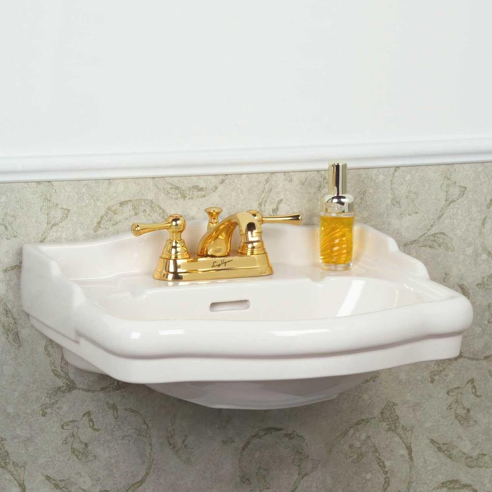"Bathroom Design Centers Entrancing Stanford Mini Wallmount Bathroom Sink  4"" Centers  White  Wall Decorating Inspiration"