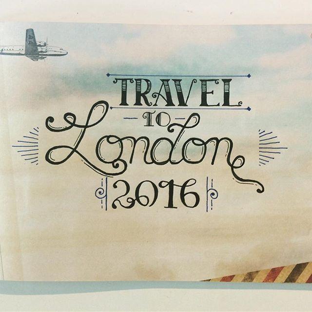 Typography voyage à Londres... #abracadabe #londres #traveljournal #typography…
