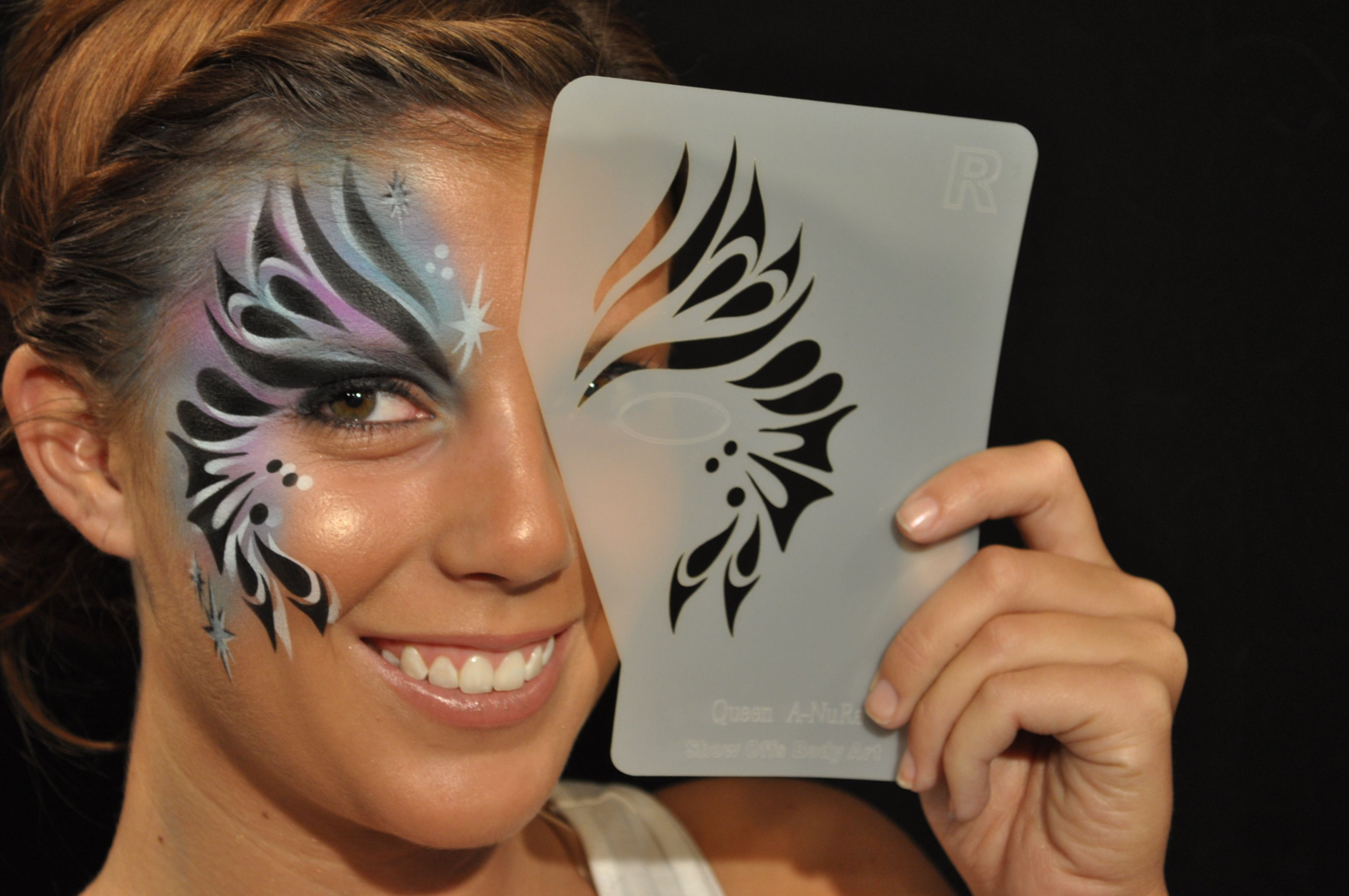Stencileyes Face Painting Stencils Face Painting Stencils Face Painting Designs Face Painting