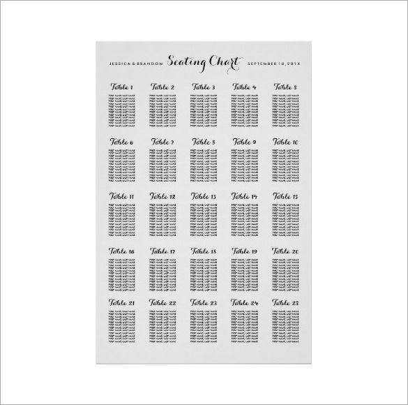 wedding seating chart template wedding jw bls pinterest