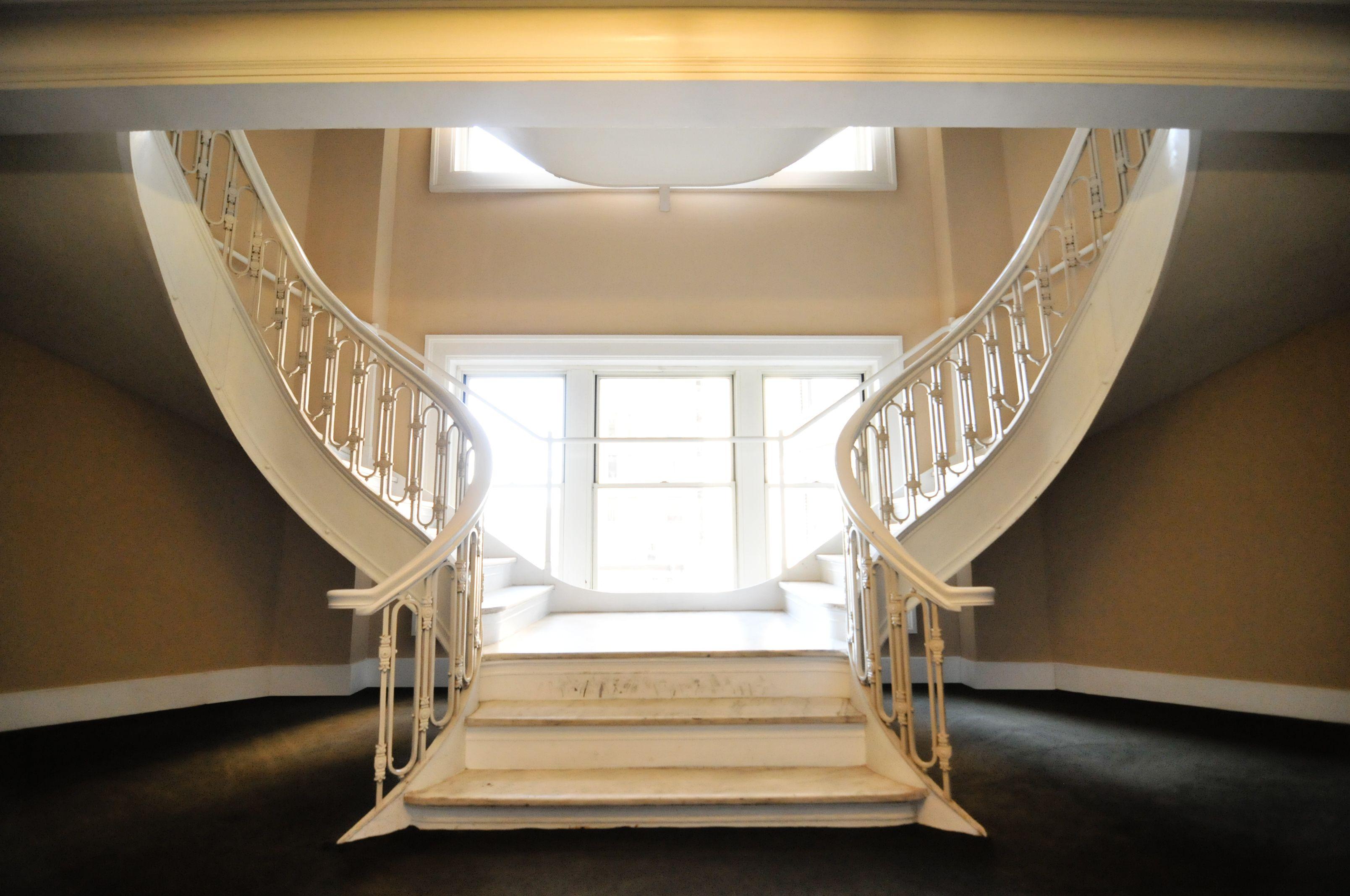 Staircase In Historic Atlanta Hotel