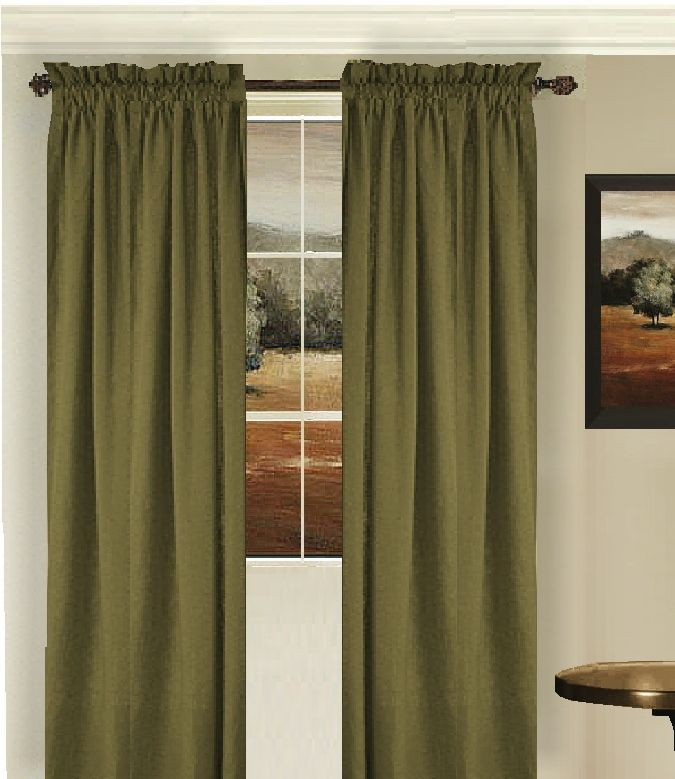 Curtains Green And Gold Google Search Curtins